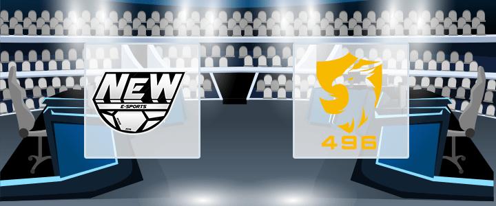 New Esports – 496 Gaming 23 сентября 2020 прогноз