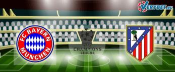 Бавария - Атлетико Мадрид