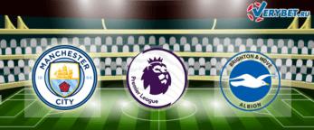 Манчестер Сити - Брайтон 13 января 2021 прогноз