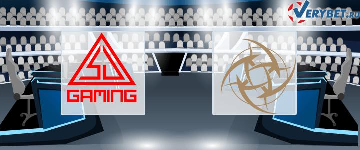 SJ Gaming – Young Ninjas 19 января 2021 прогноз