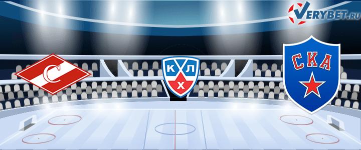 Спартак Москва — СКА 30 января 2021 прогноз