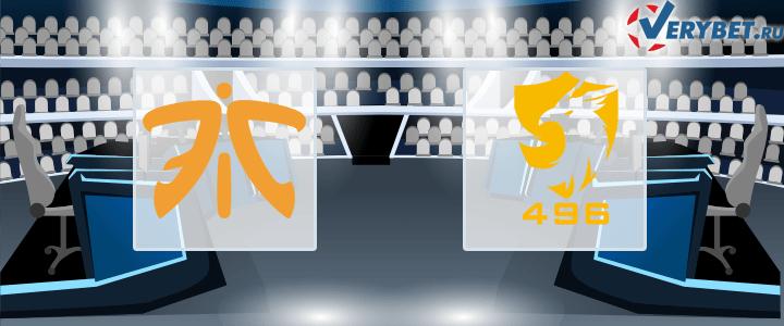 Fnatic – 496 Gaming 13 февраля 2021 прогноз