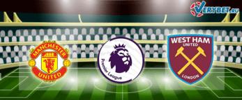 Манчестер Юнайтед – Вест Хэм 9 февраля 2021 прогноз