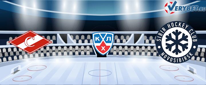 Спартак — Сибирь 25 февраля 2021 прогноз