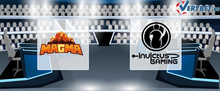 Team MagMa – Invictus Gaming 23 февраля 2021 прогноз