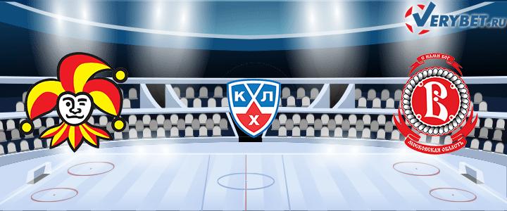 Йокерит — Витязь Подольск 22 февраля 2021 прогноз