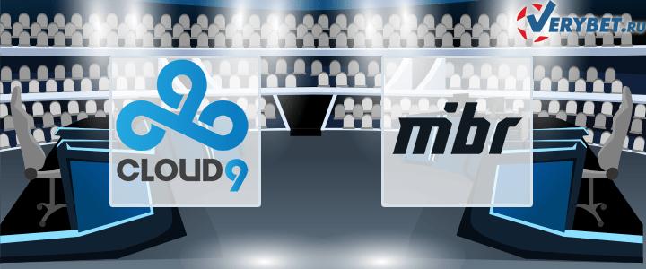 Cloud9 – MiBR 24 марта 2021 прогноз
