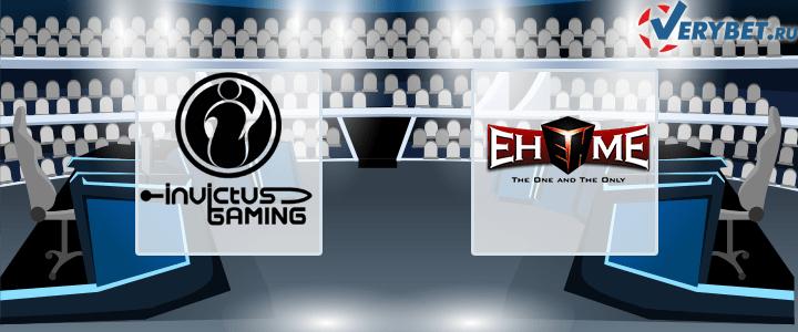 Invictus Gaming – EHOME 9 марта 2021 прогноз