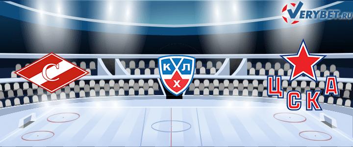 Спартак Москва — ЦСКА 9 марта 2021 прогноз