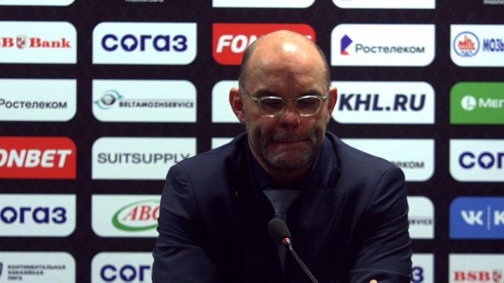 Тренер минского «Динамо»