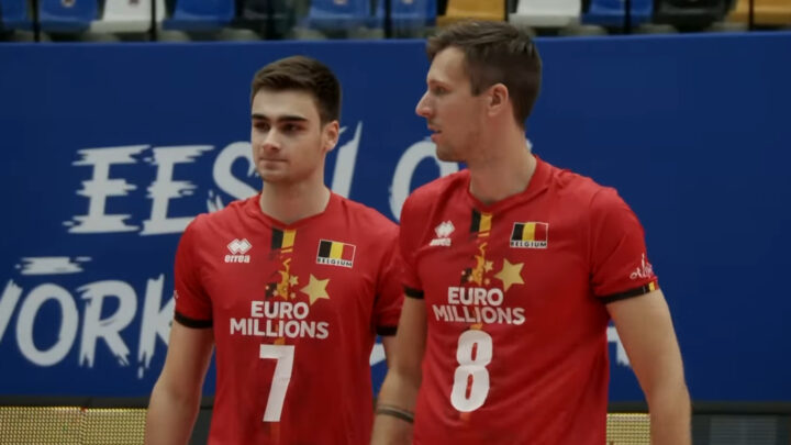 Сборная Бельгии по волейболу