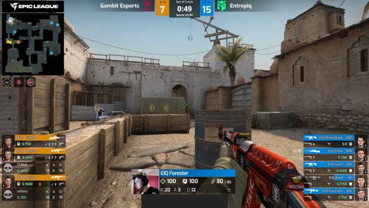 Gambit Esports – Entropiq