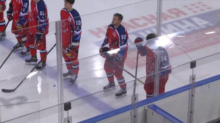 Московская «Звезда» оказалась сильнее «Рязани» в ВХЛ